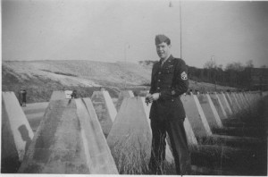 Charlie at Siegfried Line, Germany March 1946